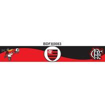 Adesivo Bdfx0083 Flamengo Futebol Border Quarto Do Bebê