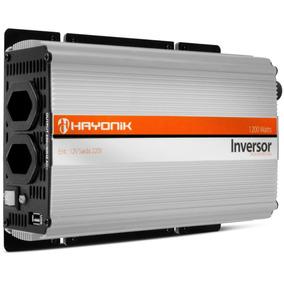 Inversor Transformador 1200w 12/220v Carro Notebook Barco