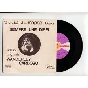 Lp Vinil -1974/ Wanderley Cardoso - 100.000 Sempre Lhe Direi