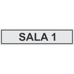 Placa Sala 1