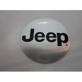 Emblema Adesivo Jeep Para Rodas Esportivas 58mm