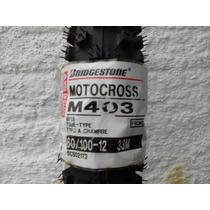 Pneu Bridgestone 60/100-12 Mini Moto Cross/ktm / Pro Tork