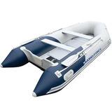 Bote Inflável Mirovia 640kg Com Remos Barco Até 15hp Bestway