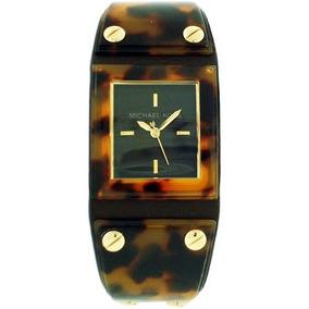 Relógio Luxo Michael Kors Mk2218 Orig Anal Tortoise!!! R  2.999 99. 12x R   250 sem juros 00a1e553f0