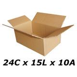 25 Pçs Caixas De Papelão Tipo N° 02 Para Sedex E Pac Correio