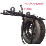 *** Transbike Estepe C/ Alças P/ Prender Bikes Rack Suporte