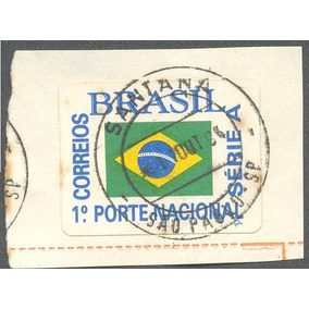 Selo Do Brasil -1º Porte Nacional Car. Santana