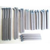 Kit 20 Ferramentas De Corte Para Torno 10x10mm Metal Duro
