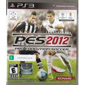 Pes 2012 - Pro Evolution Soccer - Ps3 - Novo Lacrado***