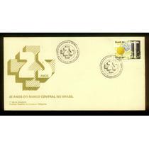 Fdc 497 - 25 Anos Do Banco Central Do Brasil - 1990