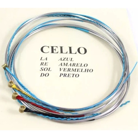 Encordoamento Mauro Calixto Para Cello Violoncello 4/4