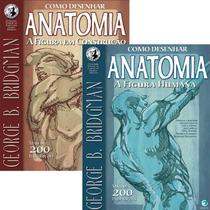 Livros Como Desenhar Anatomia Coleção George Bridgman Fr Gr