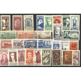 Ano Completo-1954 - 29 Selos Novos