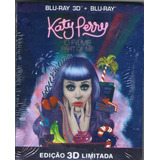 Blu-ray 3d +blu-ray - Katy Perry - O Filme Part Of Me - Novo
