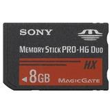 Memory Stick Sony Pro-hg Duo 8gb C/full Hd Magic Gate P/ Hx1