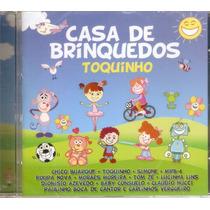 Cd Toquinho - Casa De Brinquedos - Novo***