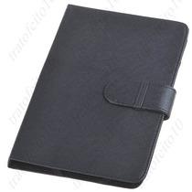 Case 7 Protetora P/ Tablet/pc/computador Couro Sint(tf003)