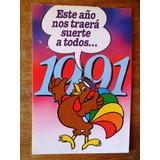 Antigua Postal Gallito Luis El Pais Año 1991