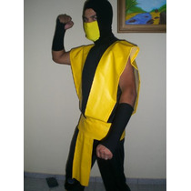 Fantasia Scorpion Mortal Kombat 1 A Mais Perfeita Do Brasil
