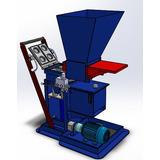 Projeto Prensa Tijolo Ecológico Hidraulica