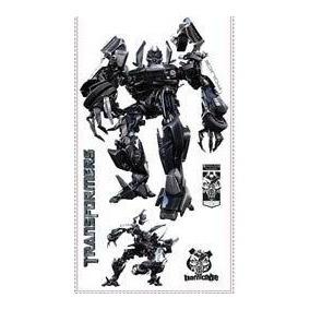 Adesivo Grande Parede Cartela Nº 1 Transformers Megatron