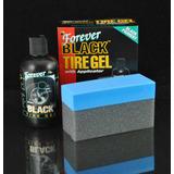 Kit Americano Renovador Pneu Forever Black Tire Gel