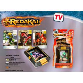 Starter Pack Redakai 23 Cartas E 1 Porta Cards - Long Jump