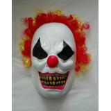 Mascara Payaso Del Mal Clown It La Cosa Asesino Terror Miedo