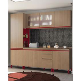 Cozinha Modulada Kappesberg New Urban 10 8 Portas E 3 Gaveta