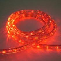 Corda Luminosa Led 13mm 2 Fios Laranja 44metros - Taschibra