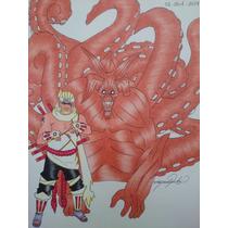 Dibujos Anime, Hechos A Pluma Y Pinturas