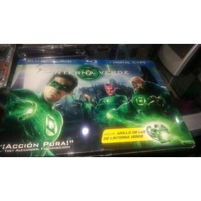 Linterna Verde Bluray + Dvd + Copia Digital + Anillo De Luz