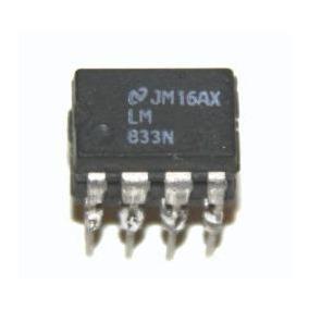 Ci - Lm833 - Op. Amp. Ultra Low Noise Dual - Pinagem 4558
