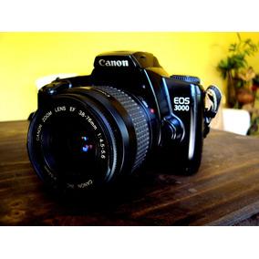 Camera Fotográfica Analógica Canon Eos 3000 - Raridade