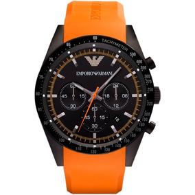 a2f42c74015 Relógio Emporio Armani Ar5987 Laranja Original Garantia - Joias e ...