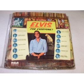 Lp Elvis Presley For Everyone - 1982