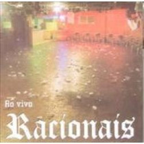 Cd Racionais Mcs - Ao Vivo Diadema Original Lacrado Pronta E