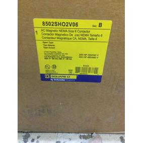 Contactor Tamaño 6 Square D 8502sho2v06 400 Hp 440 Volts