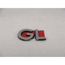 Emblema Gl Escort Ka Fiesta Linha Ford 97 Em Diante