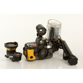 Câmera Fotográfica Subaquática (mergulho) - Usa Filme 35mm