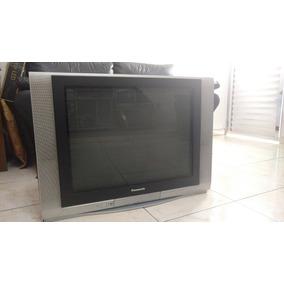 Tv Panasonic 29 Tela Plana Tubo Funcionando Perfeitamente