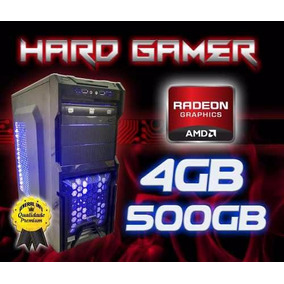 Cpu Gamer Amd A4 7300/ 500gb / 4gb/ Dvd-rw/ Hd 8470d/ Hdmi