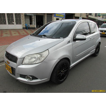 Chevrolet Aveo Emotion Gti Mt 1600 Cc 3p Aa Ct