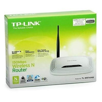 Roteador Wireless Tp-link Tl-wr740n 150mbps 5dbi 1 Antena