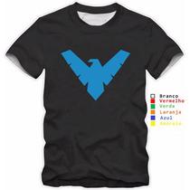 Camisa Personalizada Asa Noturna ,filme, Desenho