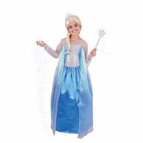 Disfraz Disfraces Frozen Elsa Vestido Carnavalito