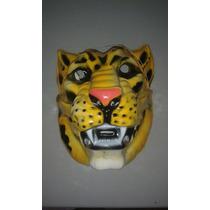 Mascara De Tigre Plastica Para Disfraces