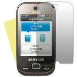 Pacote Com 9 Peliculas Protetoras P/ B5722 Dual Duos Samsung