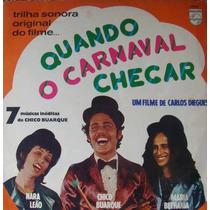 Nara Leão Chico Buarque Bet Lp Quando Carnaval Chegar 1972