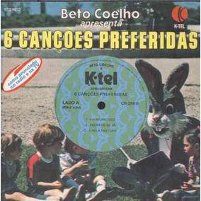 Beto Coelho Compacto De Vinil - 6 Canções Preferidas-azul